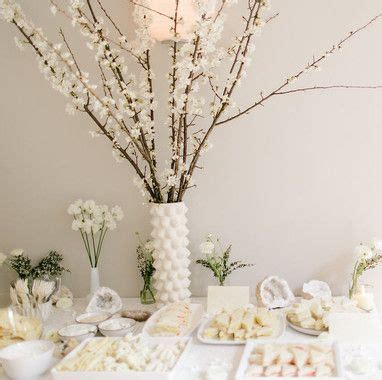 White Baby Shower Ideas by 25 Best Ideas About White Baby Showers On