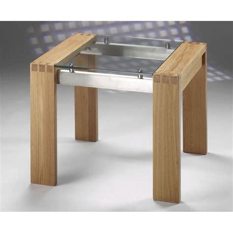 Oak And Glass Side Table Harris Roma Solid Oak And Glass Side Table Harris From Emporium Home Interiors Uk