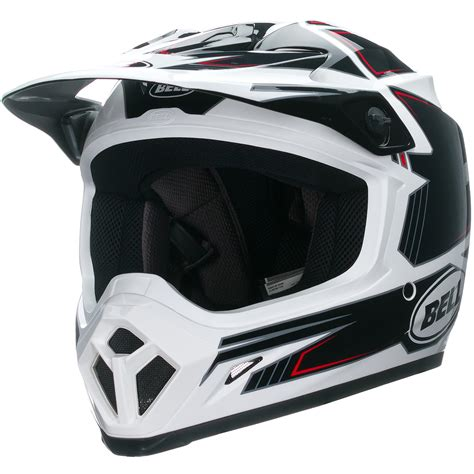 Bell Mx 9 Blockade Black Motocross Helmet Mx Cross Motox