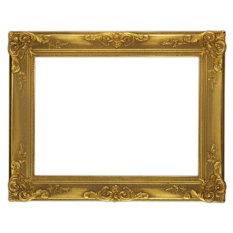 framing photos without glass baroque frame gold decorated over corner without glass
