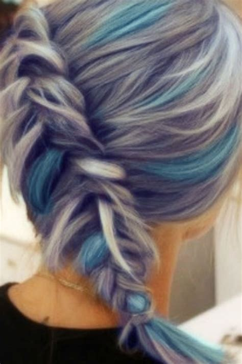 silver blue long hair pictures photos and images for facebook silver highlights for gray hair in hair color short