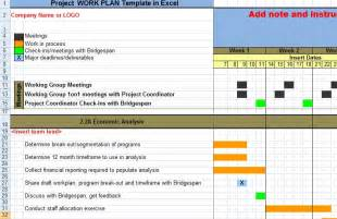 creating a work plan template calendar template 2016