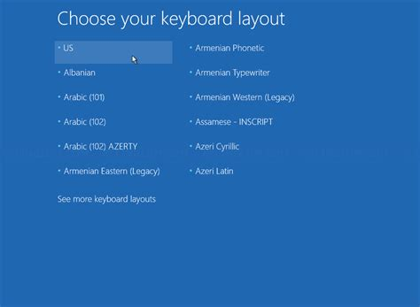 keyboard layout bios 3 methods to access advanced startup options in windows 10