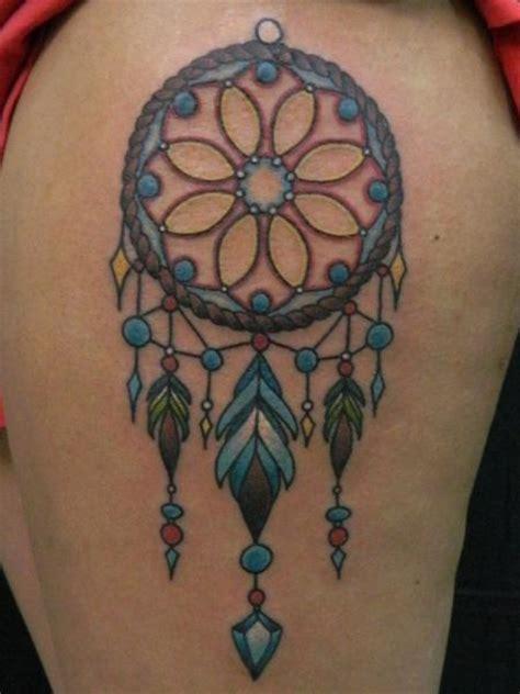 tattoo dreamcatcher old school dreamcatcher by james dean tattoonow