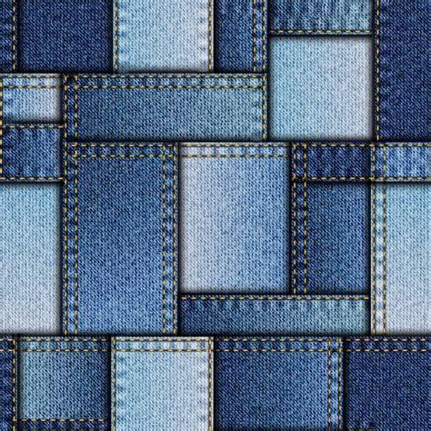 denim patchwork pattern