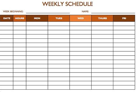 excel template project tracker and weekly work plan template excel