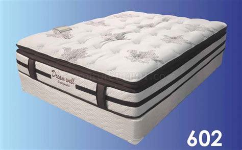 pc 602 orthopedic pillow top 15 mattress by dreamwell w