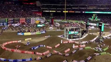 what channel is the motocross race on supercross race angels stadium first race dirt bikes