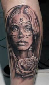 101 day of the dead tattoos that are haunting and brilliant