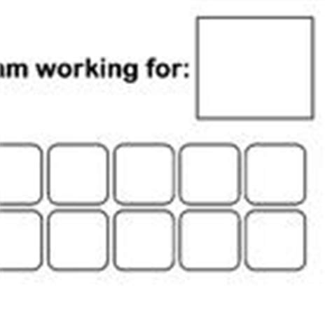 token reward system template simple token board template room for 10 icons