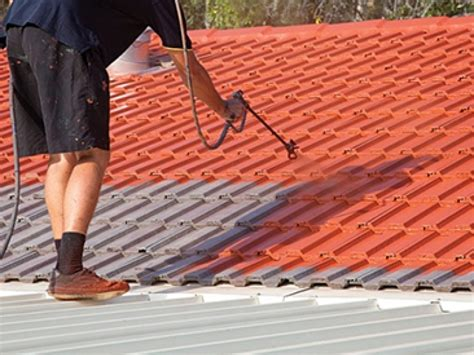 Roof Tile Paint Roof Paint Warranty Auckland Roof Painting