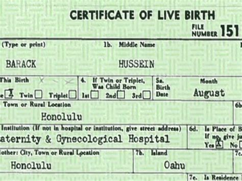 Ga Birth Records Why Conspiracy Theories Die Cnn