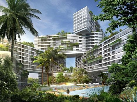 the amazing interlace housing complex in singapore low impact lodging singapore s stunning eco apartments