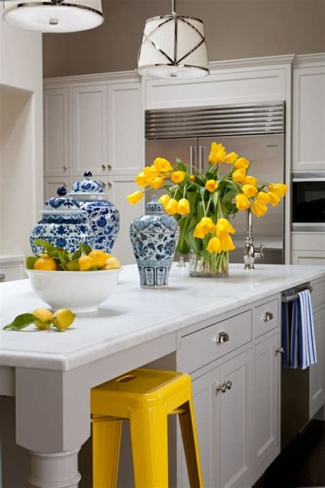 Hello Kitchen Decor by 17 Best Ideas About Blue Yellow Kitchens On