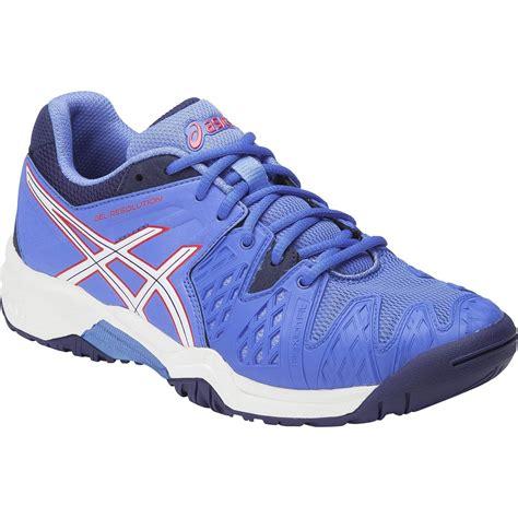 asics gel resolution 6 gs tennis shoes