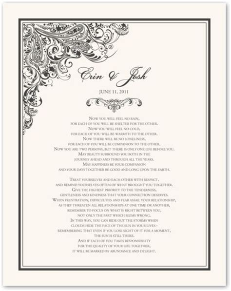 Apache Wedding Blessing Version by Apache Wedding Blessing Form Weddings