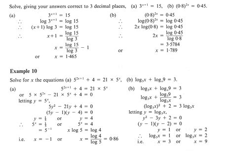 Logarithm Worksheet With Answers by Logarithm Worksheet Worksheets