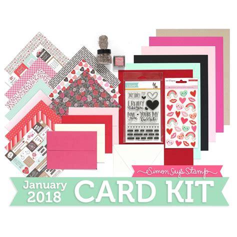card kit sss january card kit giveaway n cuts