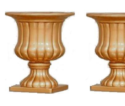 vaso romano vaso romano dourado g 2 unidade