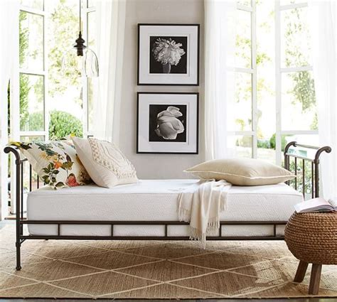 Pottery Barn Daybed Loleta Iron Daybed Pottery Barn