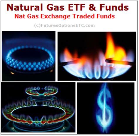 natural gas etfs list: trade natural gas through exchange