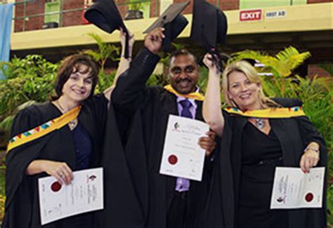 Mba Ukzn 2018 three of four mba laude graduates from left ms