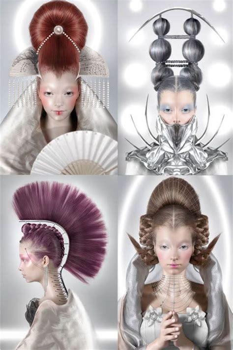 Futuristic Hairstyles by Futuristic Hairstyles Sci Fi Style