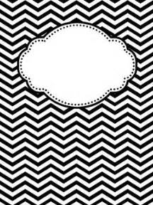 black and white binder cover templates 25 best ideas about chevron binder covers on