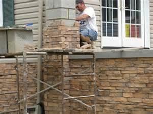 Outdoor Fireplace Regulations - how to install stone veneer stone veneer amp pavers