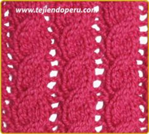 galeria de puntos 4 trenzas ochos cuerdas tejiendo per punto on pinterest tricot knitting and stitches