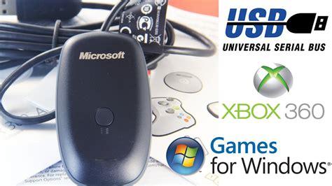 Stik Microsoft Xbox 360 For All Windows Compatible como conectar un de xbox 360 a pc con receptor