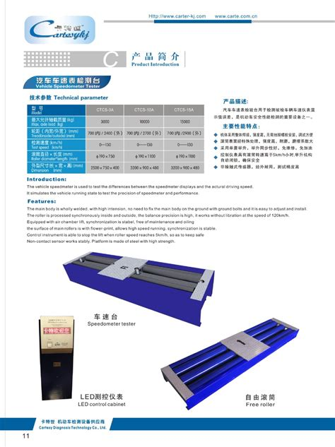 Auto Speedometer Calibration by Vehicle Speedometer Tester Car Speedometer Testing Car