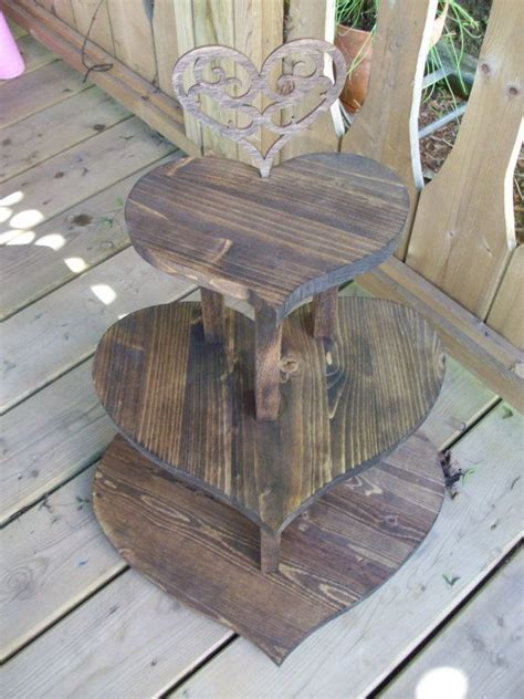 Shabby Chic Bed 5703 by Rustic Wooden Wedding Cupcake Stand Wedding Cake Stand