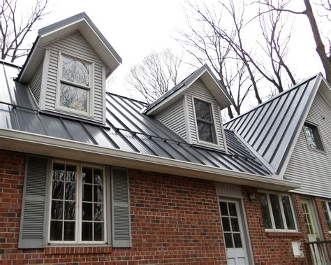 Metal Roof Dormer Standing Seam Metal Roofing Cleveland Oh Columbus Oh