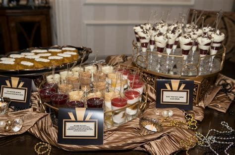 Great Gatsby Desserts   Kaitlin's Sweet 16 Gatsby Party