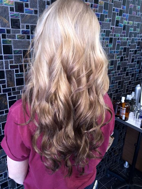 reverse ombre highlights reverse ombr 233 reverseombre ombre balayage hair