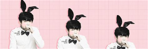 jungkook layout twitter bunny jungkook twitter header by chocolatemonstah00 on