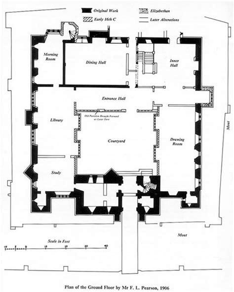 Hever Castle Floor Plan | castle floor plans on pinterest floor plans mansion