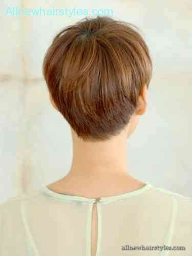 photos of wedge haircuts front and back view short wedge hairstyles front and back views short