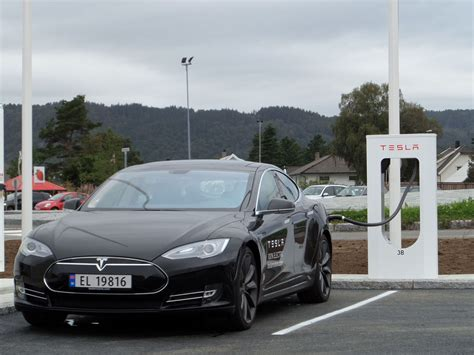 Tesla Norge Six Tesla Supercharger Stations Up And Runing In