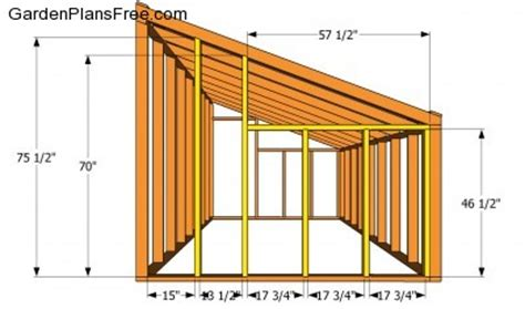 lean  greenhouse plans   woodworking