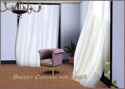 sims 3 curtains shinokcr s breezycurtain for sims3