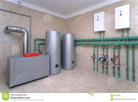 house boiler systems boiler room stock image image of cold measuring 35322831