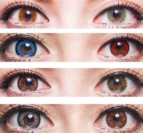 random circle lenses colored contacts pinkyparadise