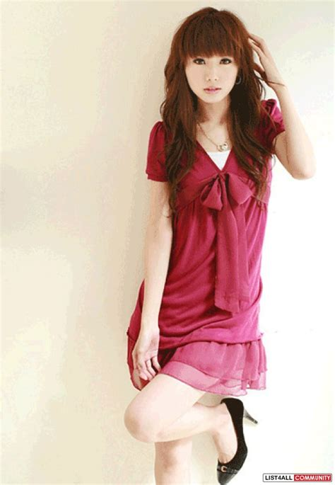 Korean Pink 1 the gallery for gt korean dresses pink