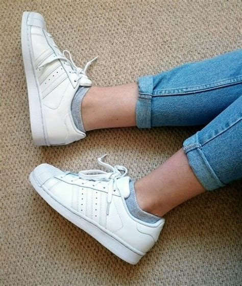 Adidas Superstar All White adidas all white superstar gt gt adidas high tops cheap gt black