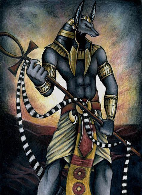 imagenes egipcias horus anubis era uno de los dioses m 225 s antiguos del pante 243 n