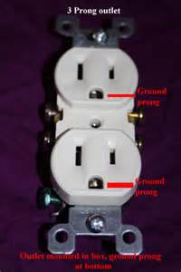 how to convert a 2 prong electric outlet to a newer 2 prong and ground