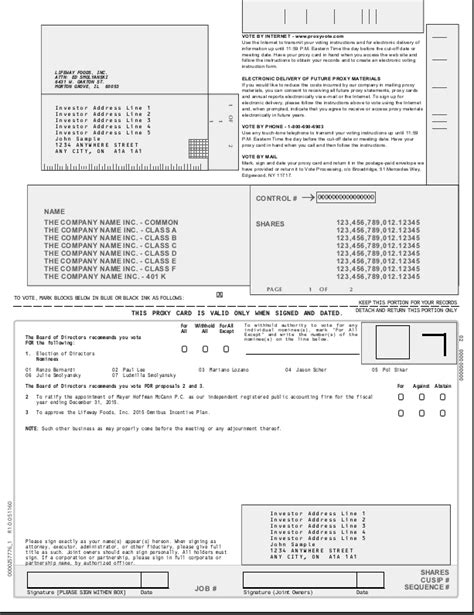 section 162 m limitation proxy card