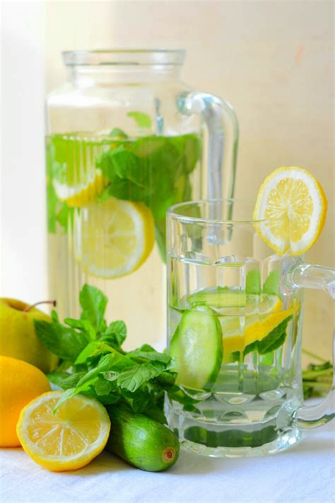 Green Tea Lemon Cucumber Detox by Lemon Cucumber Detox Water Recipe By Archana S Kitchen
